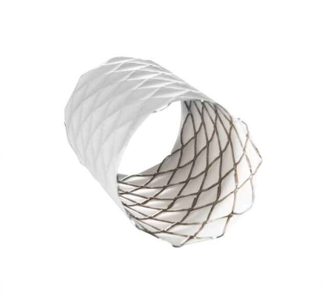 Covered CP stent
